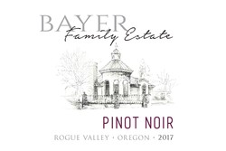 2017 Bayer Family Estate Pinot Noir